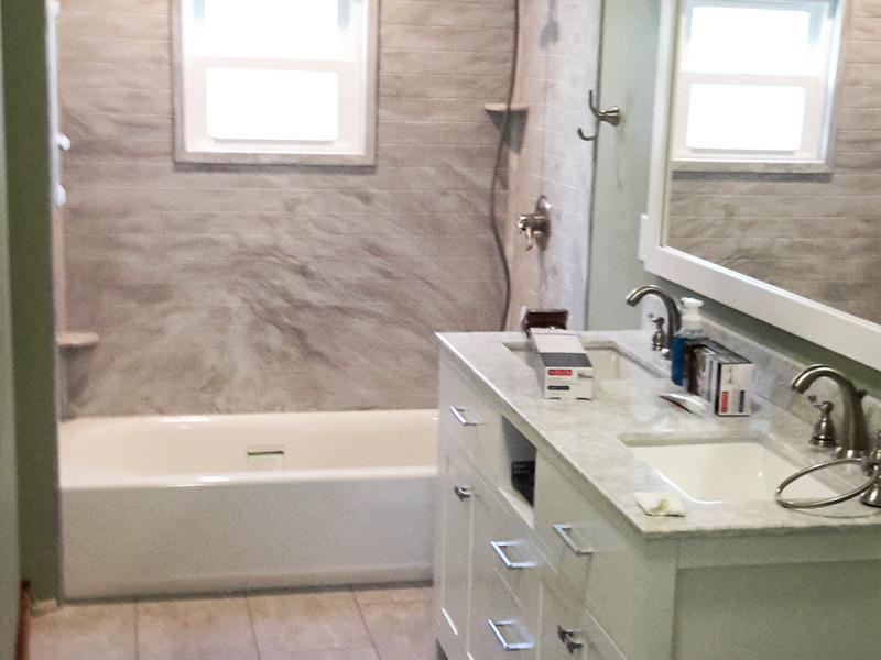 Custom Bathroom Renovation and Construction
